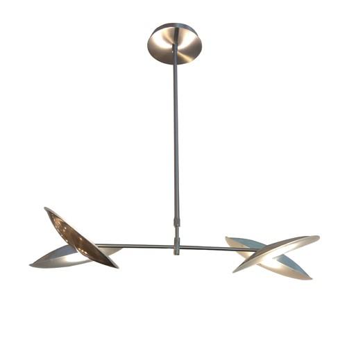 Hanglamp LED staal verstelbaar