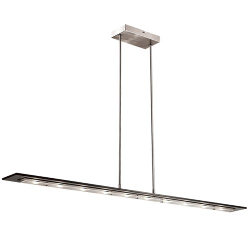strakke moderne hanglamp woonkamer led straluma. Black Bedroom Furniture Sets. Home Design Ideas
