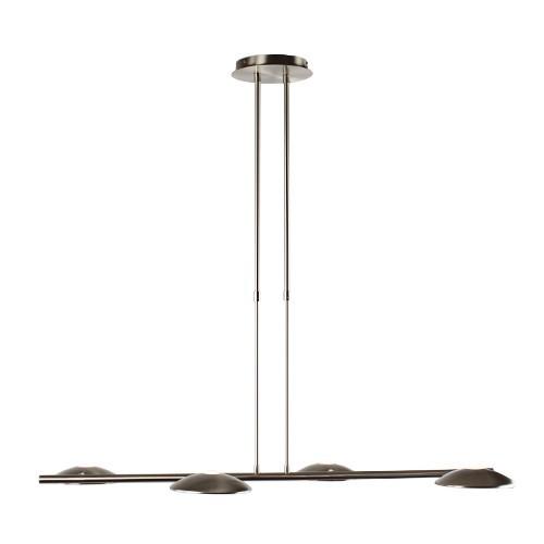 **Moderne verstelbare hanglamp LED staal
