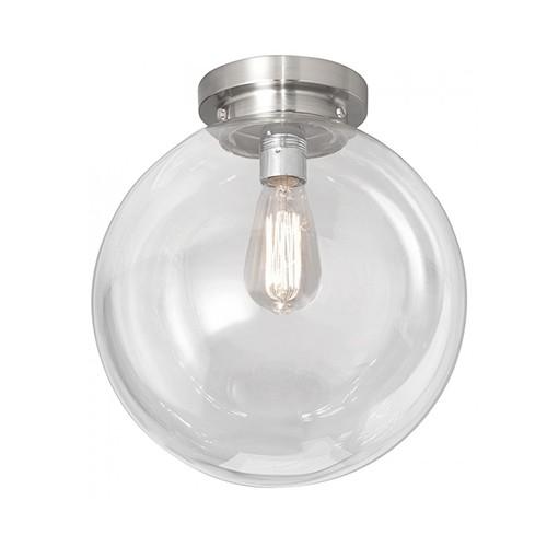 **Moderne glazen plafonniere kogel/bol