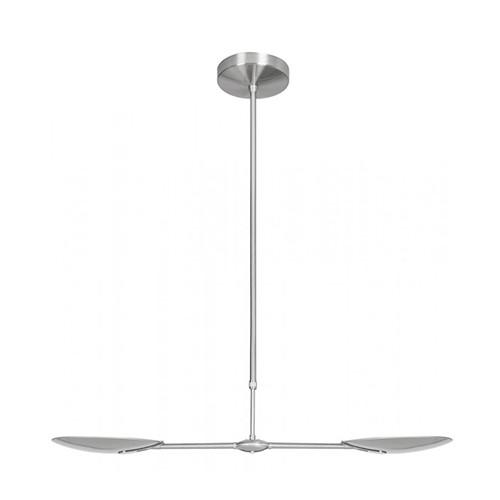 **Strakke moderne LED hanglamp eettafel