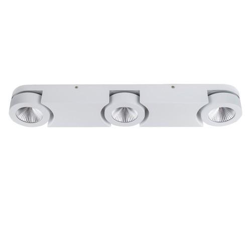LED spotbalk-plafondlamp Montreal wit