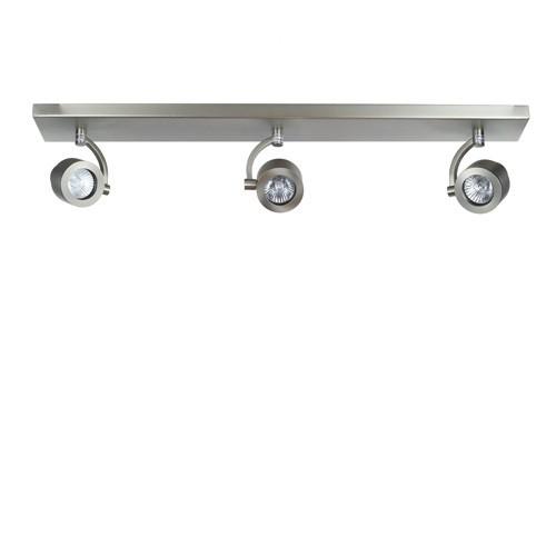 Stalen plafondbalk spot 3 lichts modern