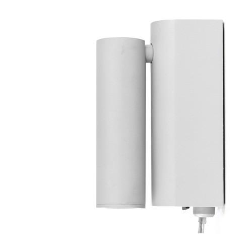 *Grijze bedlamp-wandlamp LED verstelbaar