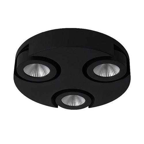 Zwarte design plafondlamp LED