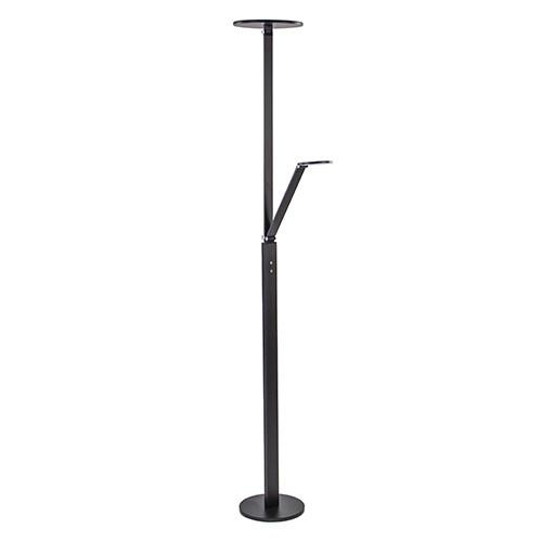 Moderne zwarte uplighter dimbaar LED