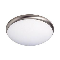 Plafondlamp Vigo chroom opaal glas | Straluma