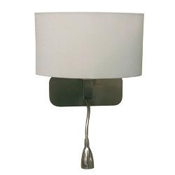 *Lees wandlamp bologna met flex arm