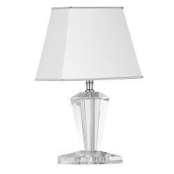 **Tafellamp Crystal Pyramid glazen voet