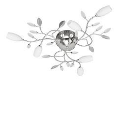 Plafondlamp Grosseto strak klassiek glas