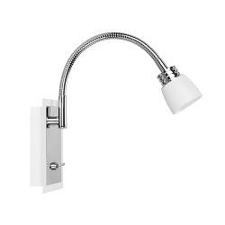*Verstelbare leeslamp Nordic wit LED