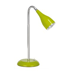 *Tafellamp Elite flexibele arm groen