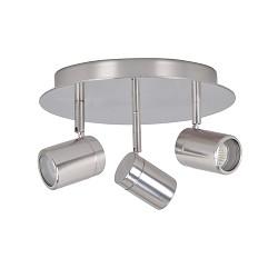 Badkamerlamp spot IP44 Shower staal