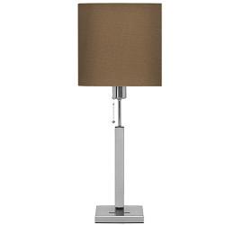 * Tafellamp Highlight Cuba stof olijf