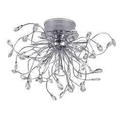 **Plafondlamp Glossy woonkamer entree
