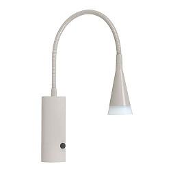 Wandlamp LED verstelbaar creme/zand