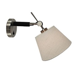 Design wandlamp verstelbaar met kap