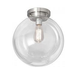 Moderne glazen plafonniere kogel/bol