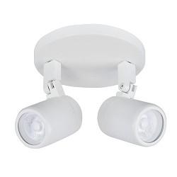 Verstelbare badkamerspot/lamp wit modern