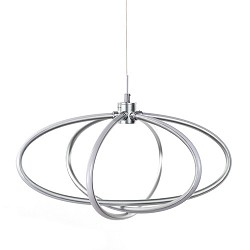 Design LED hanglamp star groot woonk.