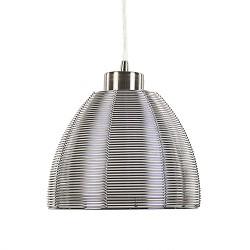 Moderne draad hanglamp chroom