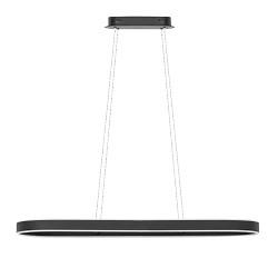 Moderne eettafelhanglamp LED zwart