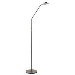 Stalen lees/vloerlamp LED dim to warm