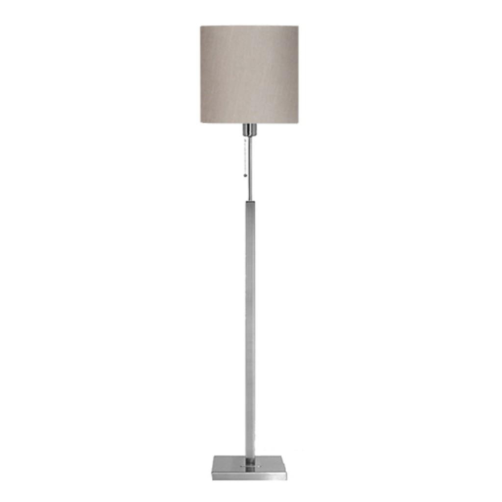 *Moderne vloerlamp Cuba incl. kap