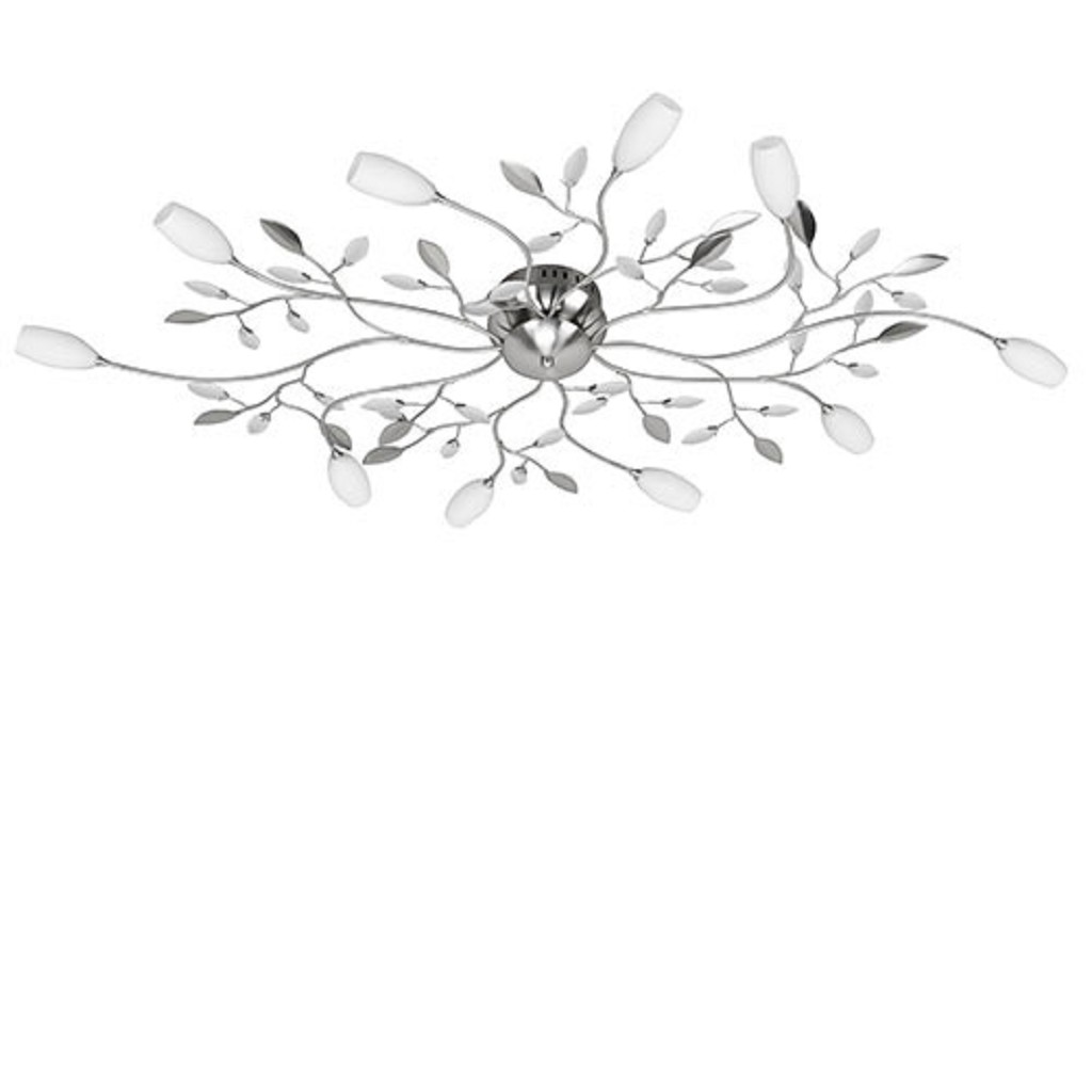 Plafond. Grosseto wit glazen kelkjes