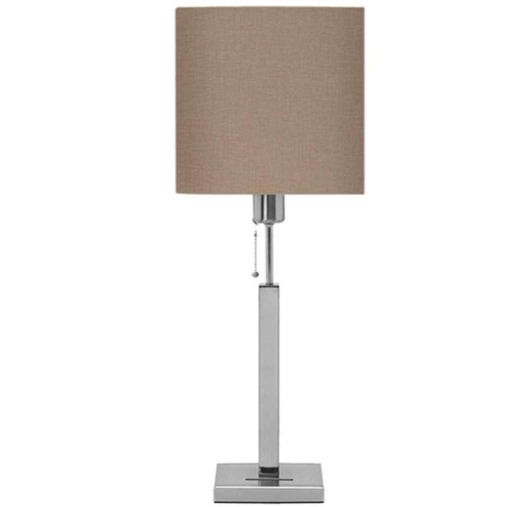 Tafellamp Cuba dressoirlamp linnen