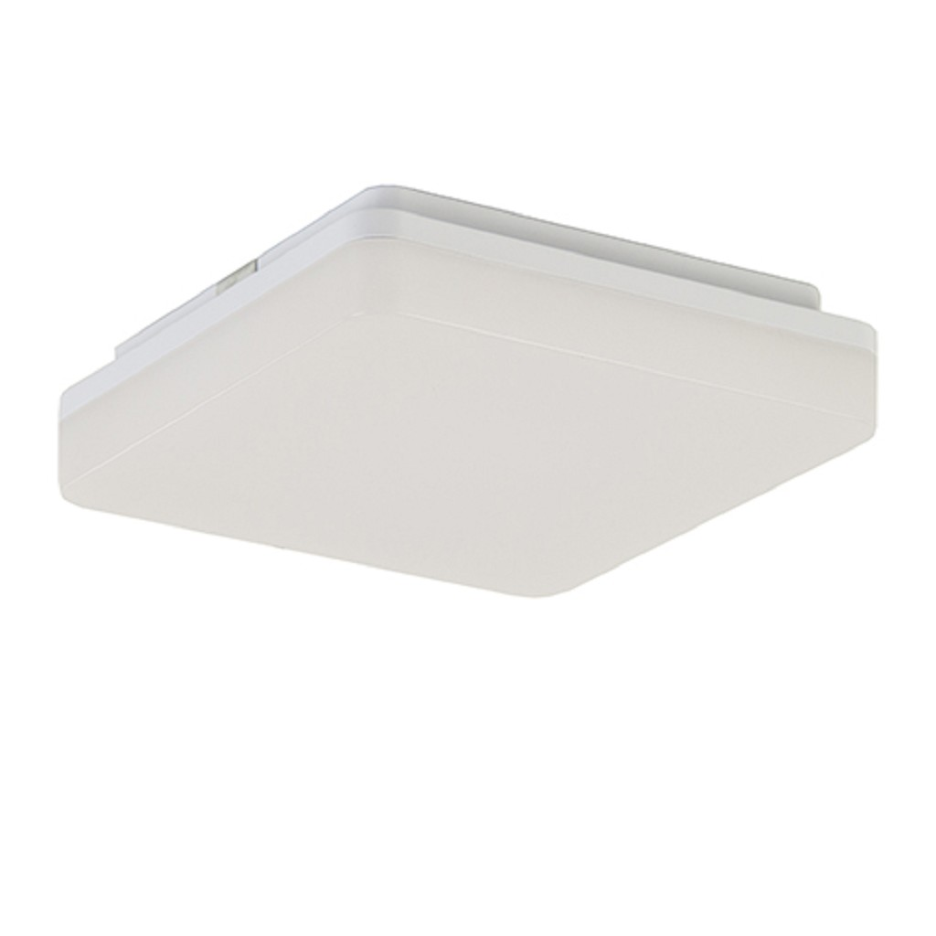 Plafond/wandlamp square wit led IP44