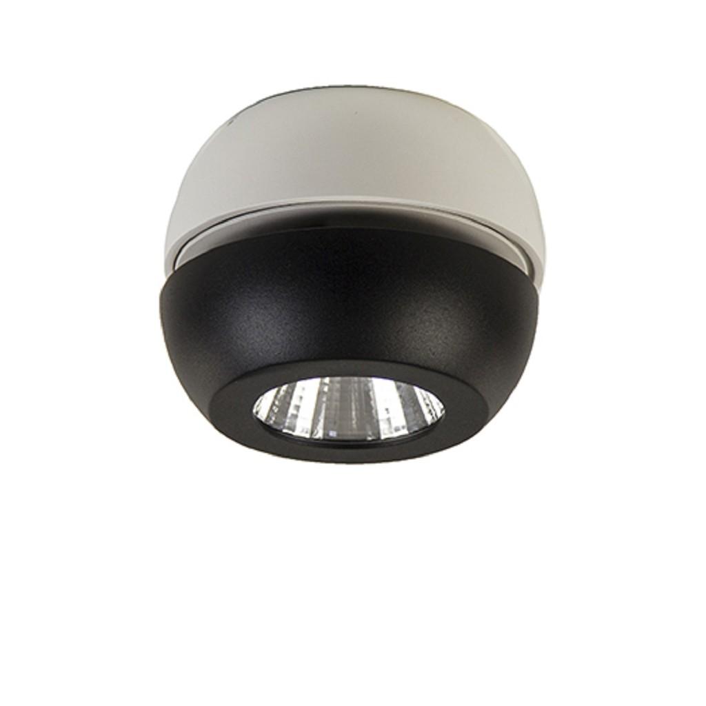 **Moderne LED spot zwart-wit verstelbaar