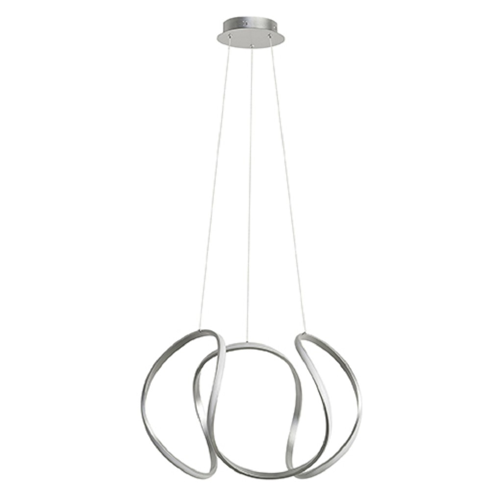 Design Hanglamp XL LED zilver