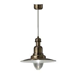 Klassieke hanglamp brons scheepslamp