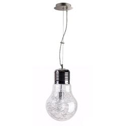 Hanglamp Gloeilamp met draad, helder