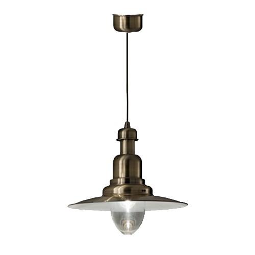 **Klassieke hanglamp brons scheepslamp