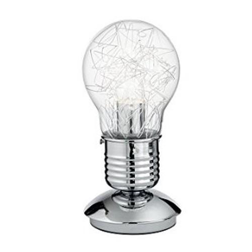Tafellamp Gloeilamp draad helder glas