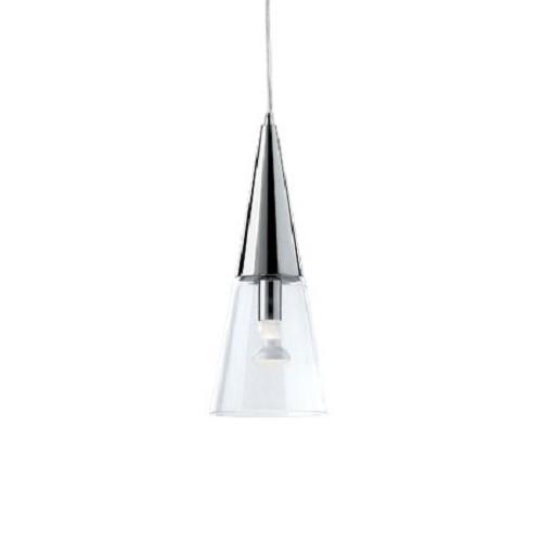 *Moderne hanglamp chroom/glas bar keuken