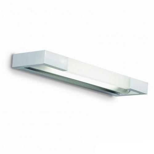 **Wandlamp aluminium, glas