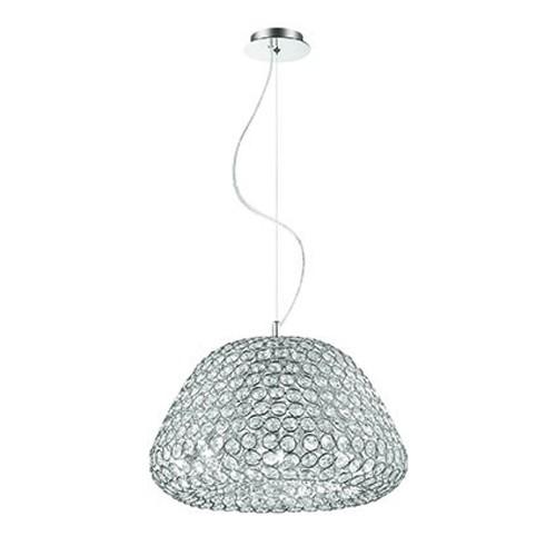 **Chique hanglamp kristal salon/eettafel