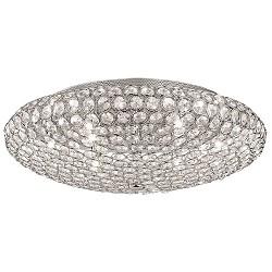 Chique plafondlamp kristal slaapkamer
