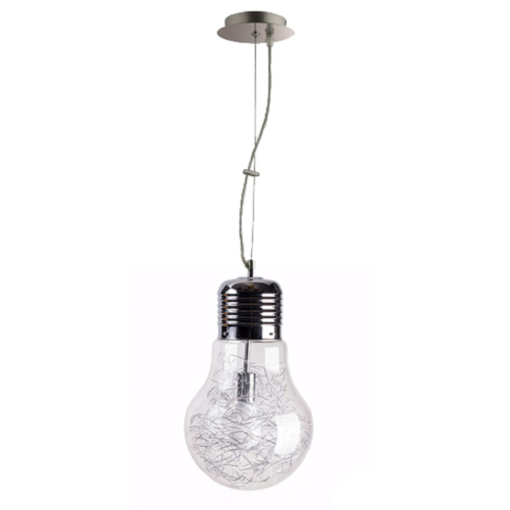 Hanglamp Gloeilamp met draad helder