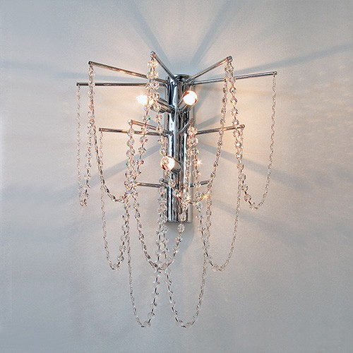 *Wandlamp swarovski strass