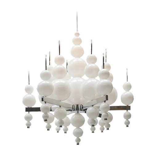 Hanglamp kroon bol wit