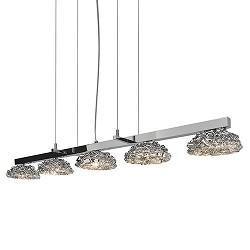 Hanglamp chroom design