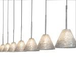 *Design Hanglamp chroom, zilver