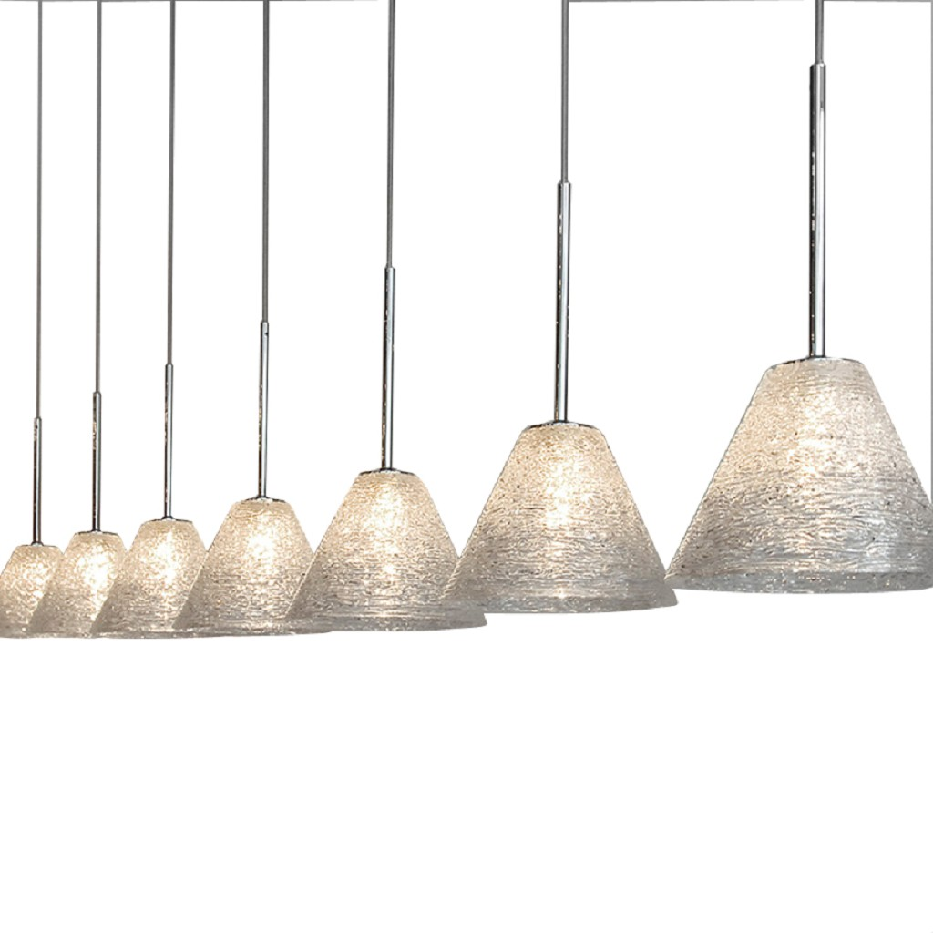 Design Hanglamp chroom, zilver