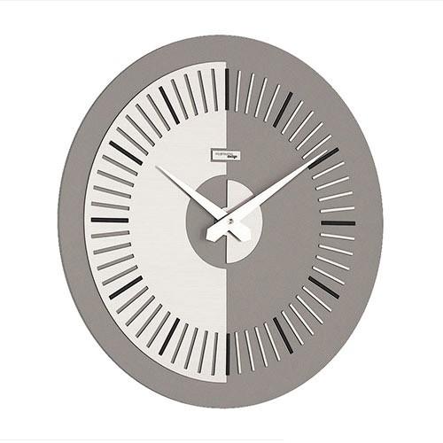 Moderne klok voor de wand grijs kantoor