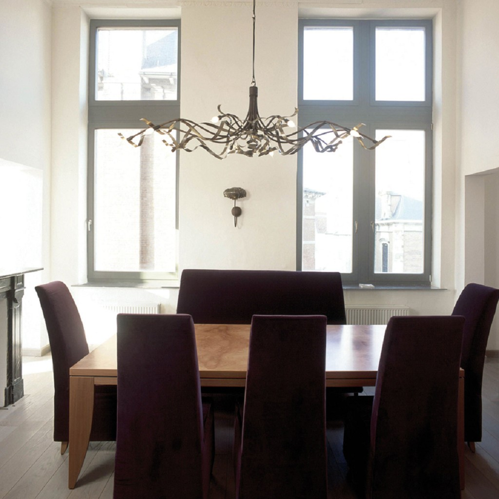 *Design hanglamp Ruban Plie Jacco Maris