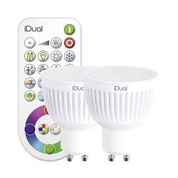 Idual set GU10 met afstandsbediening